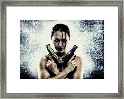 Lara Croft Framed Print