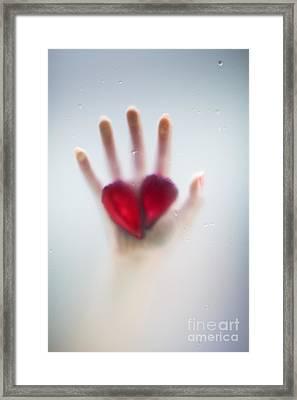 Two Hearts Framed Print by Svetlana Sewell