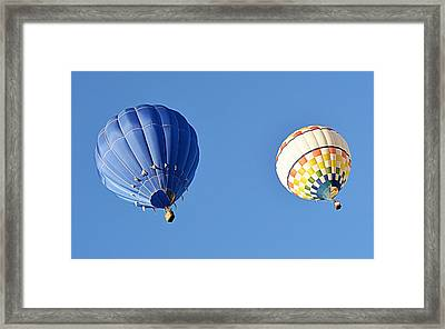 Two High In The Sky Framed Print