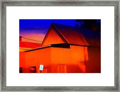 Two Hour Parking Framed Print by Glenn Gemmell