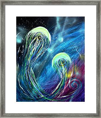 Two Into Framed Print