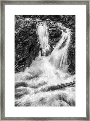 Two Into One II Framed Print by Jon Glaser