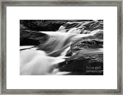 Two Island River Cascade Framed Print