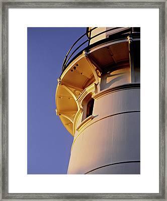 Two Lights, Cape Elizabeth Framed Print