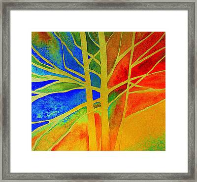 Two Lives Intertwined  Framed Print by Julie Lueders