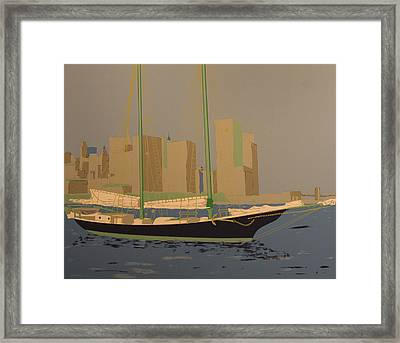 Two Masts Framed Print by Biagio Civale