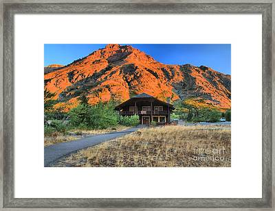 Two Medicine General Store Framed Print by Adam Jewell