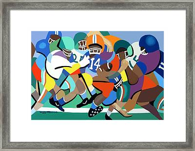 Two Minute Warning Framed Print by Anthony Falbo