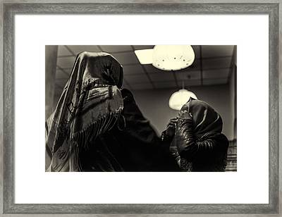 Obscurity By Chance Framed Print