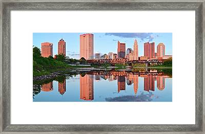 Framed Print featuring the photograph Two Of Everything by Frozen in Time Fine Art Photography