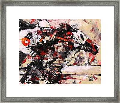 Two On The Eleven Framed Print by Ron and Metro