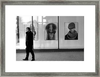 Two Out Of Three Aint Bad Framed Print by Jez C Self