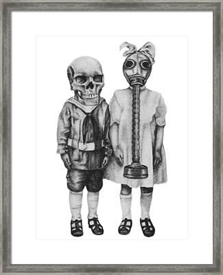 Two Pairs Framed Print by Phil Spaulding