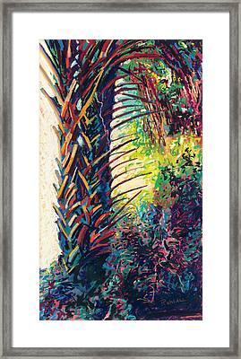 Two Palms Framed Print