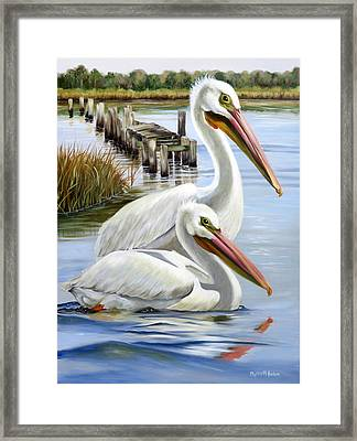 Two Part Harmony Framed Print by Phyllis Beiser