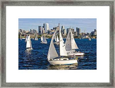 Two Pass By Framed Print by Tom Dowd