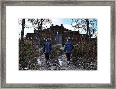 Two Paths Framed Print