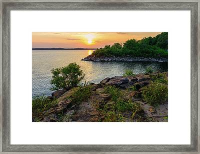 Two Rivers Trail Framed Print