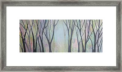 Two Roads II Framed Print by Shadia