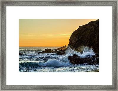 Two Rock Point Framed Print by Kelley King