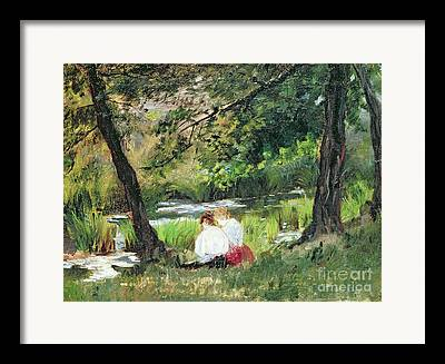 Mary Stevenson Cassatt Framed Prints