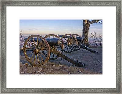 Two Sentinels Framed Print by Dale Wilson