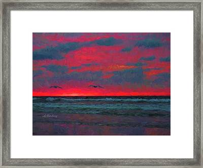 Two Ship Framed Print