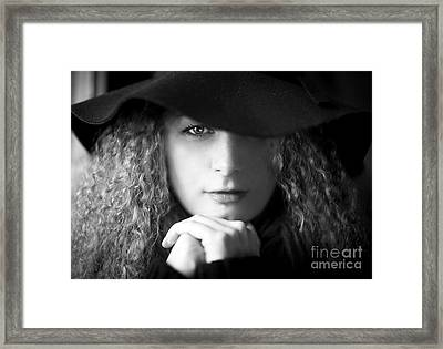 Two Sides To Each Story... Framed Print