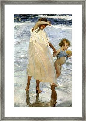 Two Sisters, Valencia Framed Print