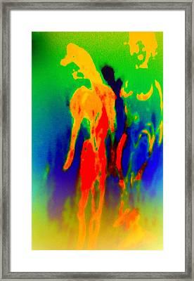 It Doesn't Have To Be Ugly To Be Art But It Is Surely Helpful  Framed Print by Hilde Widerberg
