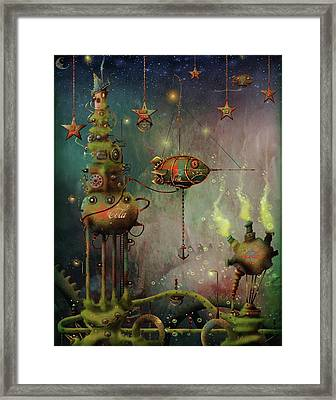 Two Star Cola  Framed Print