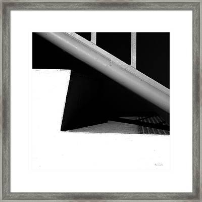 Two Steps Framed Print by Bob Orsillo