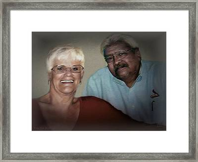 Two The Best Framed Print