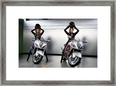 Two To Go And Go And Go. Framed Print by Lawrence Christopher