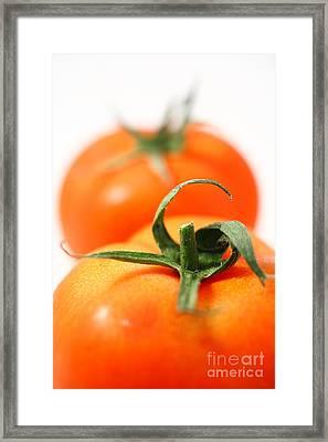 Two Tomatoes Framed Print by Gaspar Avila