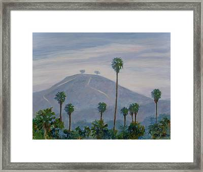 Two Trees At Seaward And Pierpont Framed Print by Tina Obrien