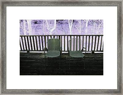 Two--version 2 Framed Print by Brooklyn Campagna