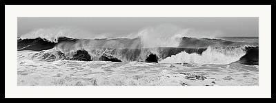 Hurricane Noel Framed Prints