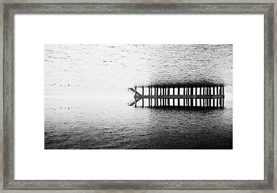 Two Worlds Framed Print by Chevy Fleet