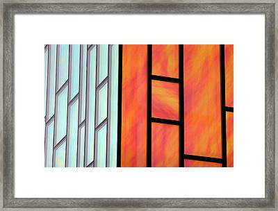 Two Worlds Collide Framed Print by Jez C Self