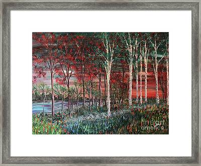 Two Worlds Framed Print by Heather McKenzie