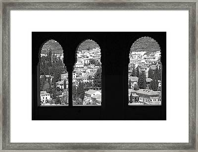 Two Worlds Framed Print by Jez C Self