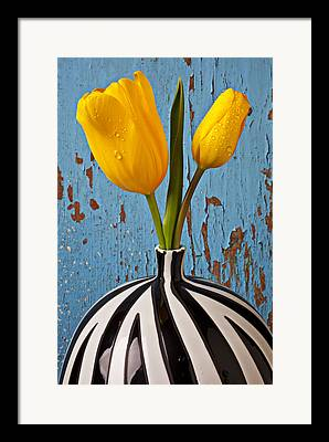 Tulip Floral Framed Prints