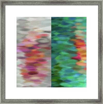 Twofold Framed Print by Tom Druin