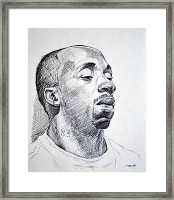 Twon Framed Print by Christopher Reid