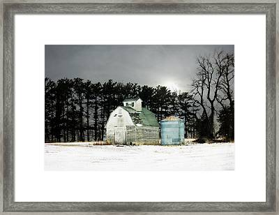 Framed Print featuring the photograph Twos Company by Julie Hamilton
