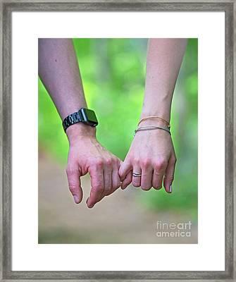 Twosome... Framed Print by Nina Stavlund