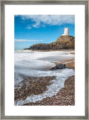 Twr Mawr Anglesey Framed Print by Adrian Evans