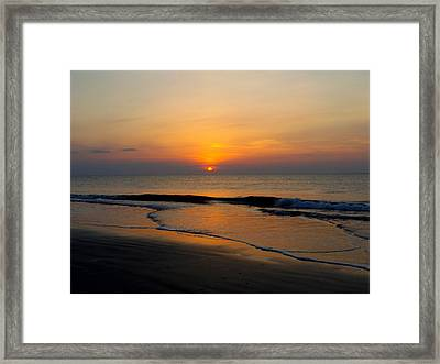 Tybee Calm Framed Print
