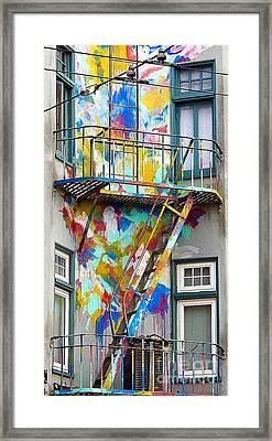 Tye Dye Framed Print